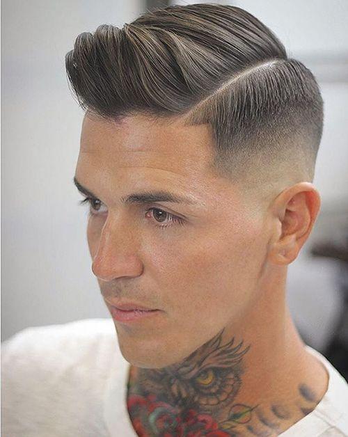 Xu hướng tóc undercut ngắn 7/3 đẹp nhất cho nam