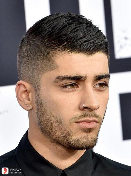 Xu hướng tóc undercut ngắn cho mặt tròn đẹp nhất cho nam