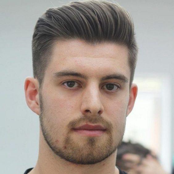 Xu hướng tóc undercut ngắn ngắn cho mặt vuông đẹp nhất cho nam