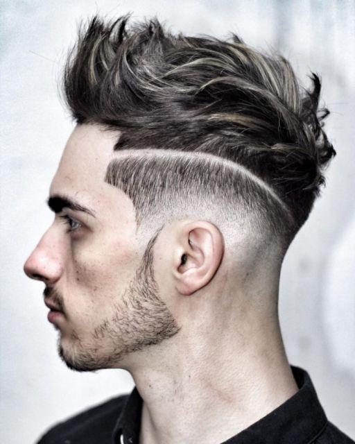 Xu hướng tóc undercut ngắn kẻ vạch đẹp nhất cho nam