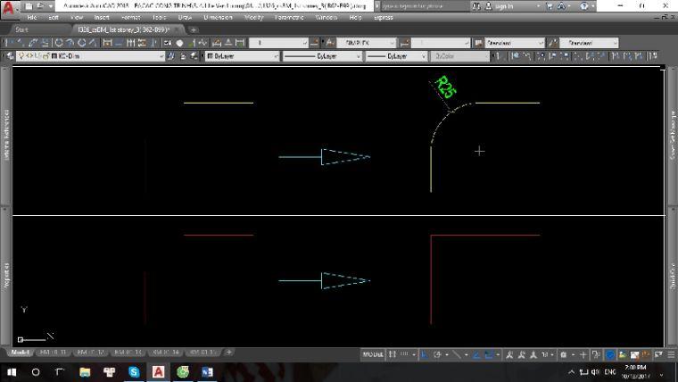 Hướng dẫn sử dụng lệnh bo tròn trong Autocad - Hình 1